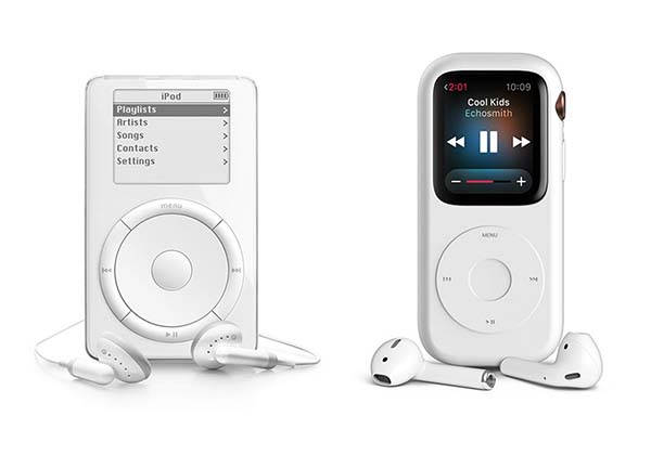 The Pod Case Turns Apple Watch into iPod Classic