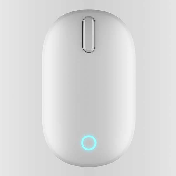 The Tube Wireless Mouse with Silicone Exterior