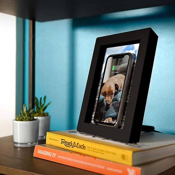 Twelve South PowerPic Picture Frame Stand with 10W Wireless Charger