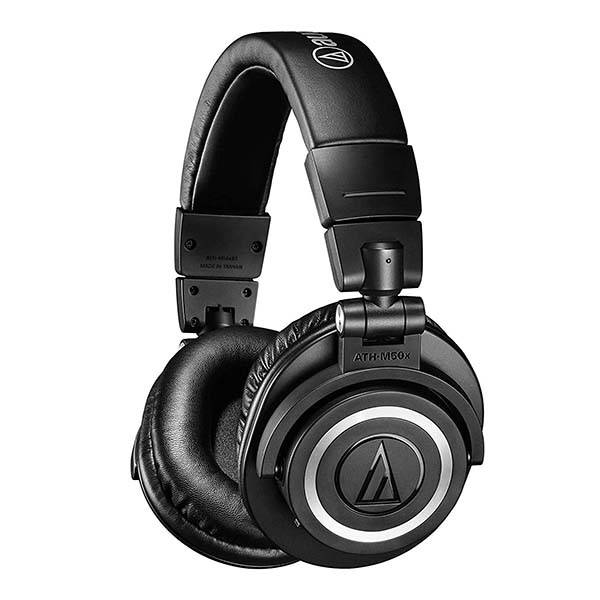 Audio-Technica ATH-M50xBT Wireless Bluetooth On-Ear Headphones