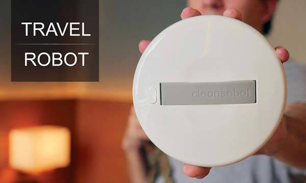 CleanseBot Bacteria Killing Smart Robot
