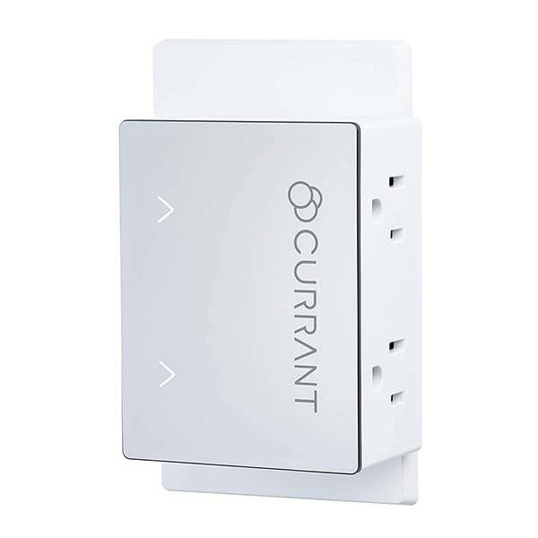 currant wifi smart outlet supports amazon alexa and google home gadgetsin. Black Bedroom Furniture Sets. Home Design Ideas