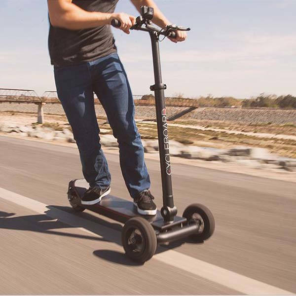 CycleBoard Elite Three-Wheel Electric Scooter