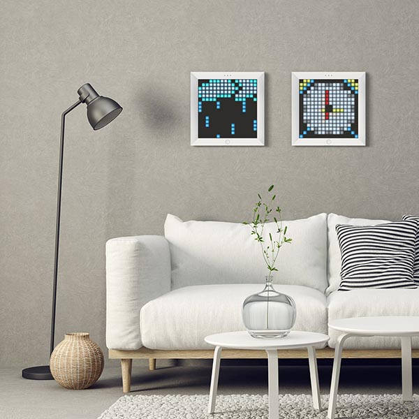 Divoom Pixoo App-Enabled LED Pixel Frame
