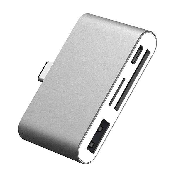 E Tronic Edge Mini USB-C Hub with Card Reader