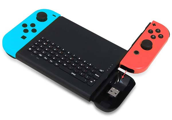 Fyoung Wireless Keyboard for Nintendo Switch
