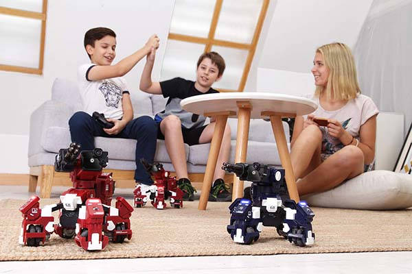 GEIO App-Enabled AR Gaming Robot Supports STEM Coding