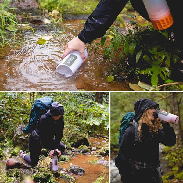 Geopress Portable Water Purifier Makes Water Clean in 8 Seconds