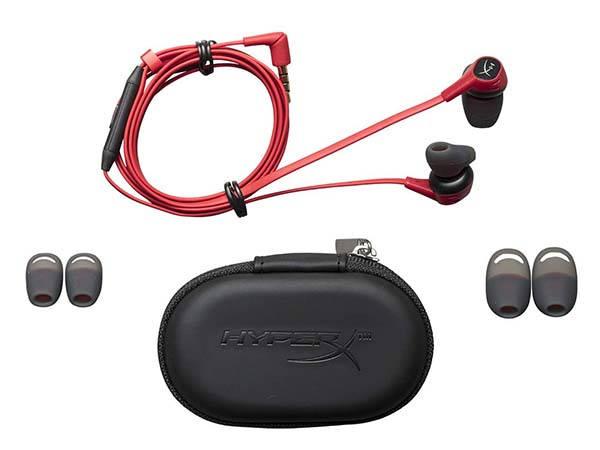 HyperX Cloud In-Ear Gaming Headphones with Microphone