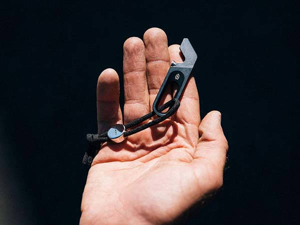 James Halifax Titanium Keychain Multi-Tool