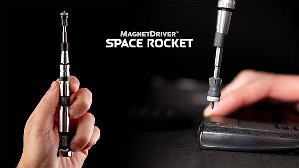 Magnet Driver Space Rocket Magnetic Screwdriver and Toolkit