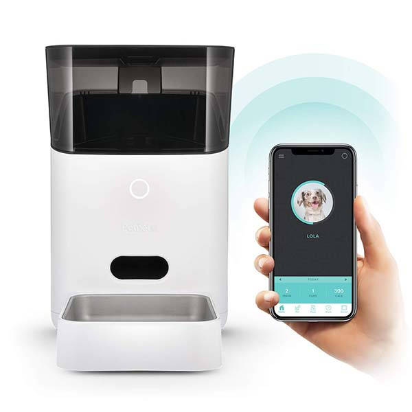 Petnet SmartFeeder Smart Pet Feeder Supports Amazon Alexa and Google Assistant