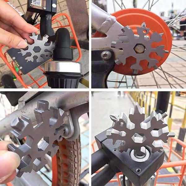Snowflake 18-In-1 Stainless Steel Multi-Tool
