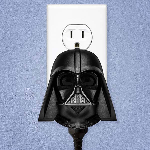 Star Wars Darth Vader Sound-Activated Outlet Controller