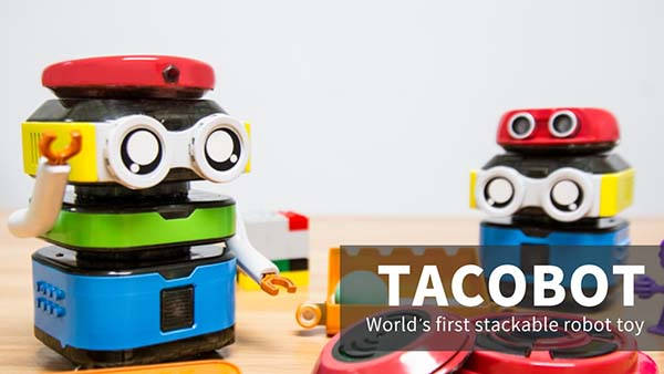 TacoBot Stackable Coding Robot for Kids