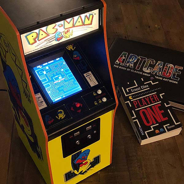 The 1/4 Scale Pac-Man Arcade Cabinet