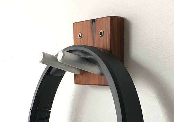The Handmade Wooden Headphone Wall Hook
