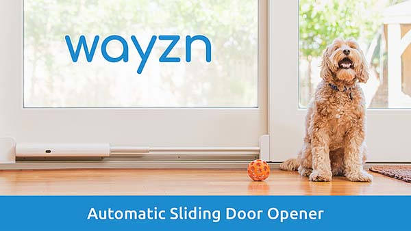 Wayzn Automatic Sliding Pet Door Opener