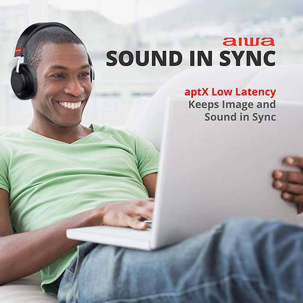 Aiwa Arc-1 Bluetooth On-Ear Headphones with aptX