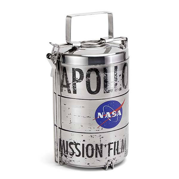 Apollo 11 Mission Film Reel Lunch Containers Gadgetsin