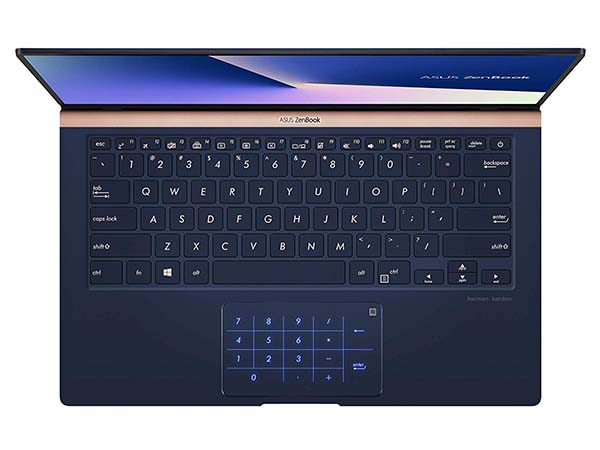 ASUS ZenBook Ultra Slim Laptop with Narrow Bezel