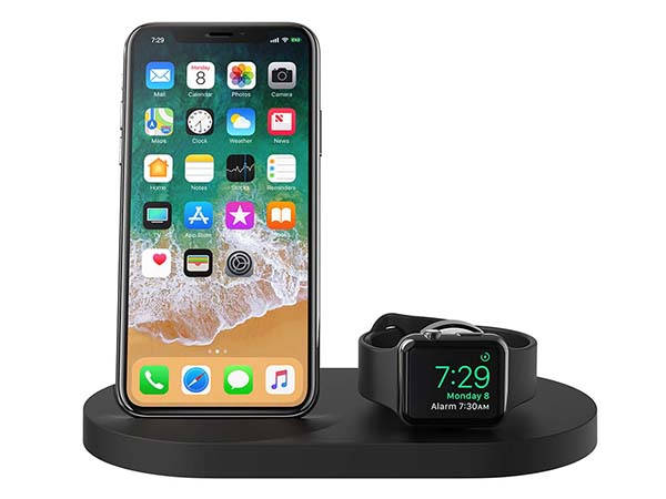 Belkin Boost Up Wireless Charging Dock with Apple Watch Charger and USB Port