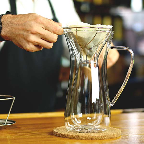 Bolio Handmade Insulated Pour Over Coffee Maker