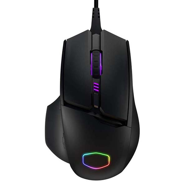 Cool Master MM830 MMO Gaming Mouse with Hidden D-Pad and OLED Display