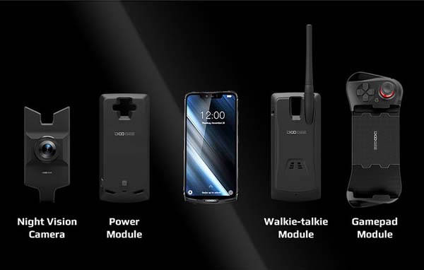 Doogee S90 Rugged Modular Smartphone with Multiple Interchangeable Modules