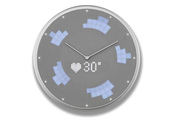 Glance Smart Wall Clock Supports IFTTT