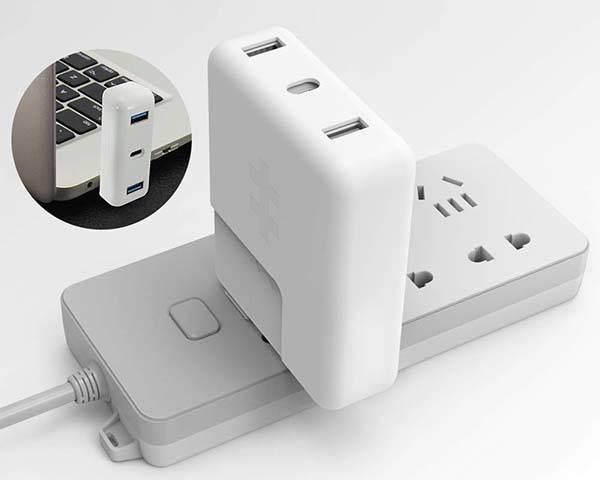 HyperDrive USB-C Hub for MacBook Pro Power Adapter