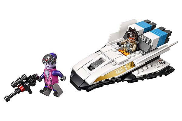 LEGO Overwatch Tracer vs Widowmaker Building Kit