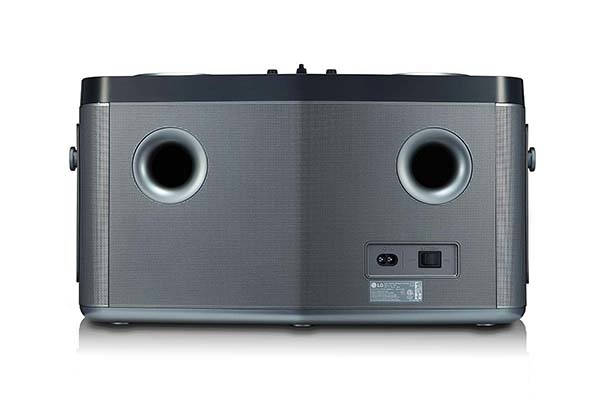 LG RK8 LOUDR Portable Bluetooth Speaker with DJ Controls