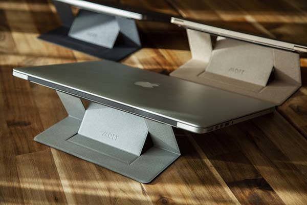 Moft Adhesive Invisible Laptop Stand | Gadgetsin