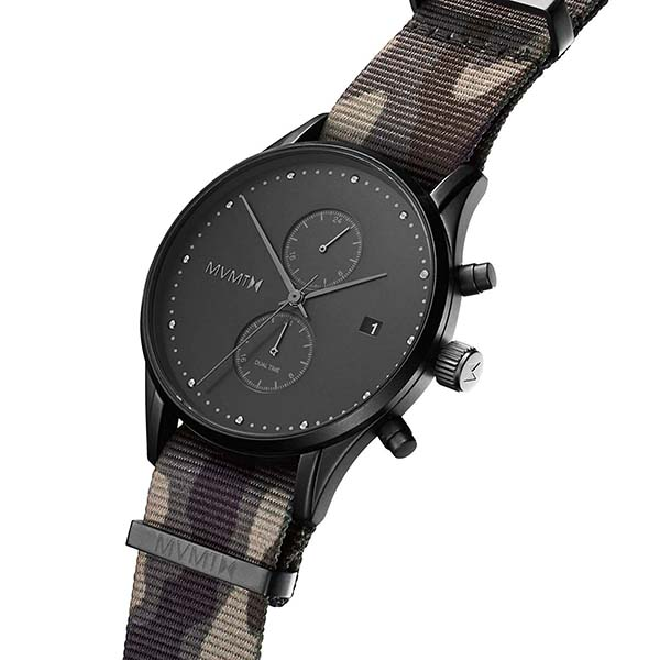 MVMT Voyager Analog Watch with Dual Time Zone Subdial