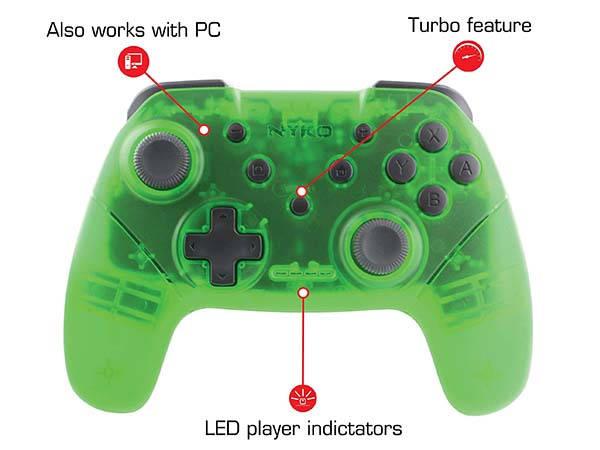 Nyko Wireless Core Bluetooth Game Controller
