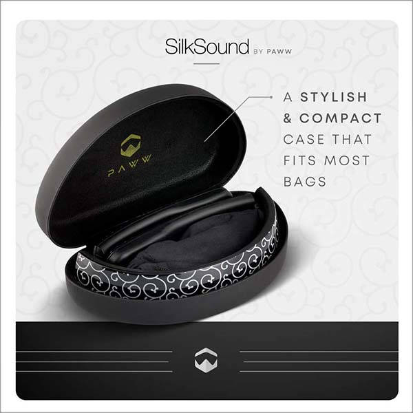 Paww SilkSound Foldable Bluetooth Headphones