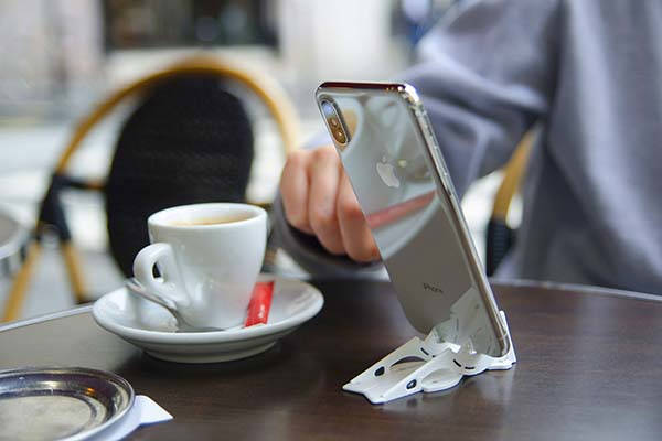 Pocket Tripod Pro Credit Card Sized Phone Stand