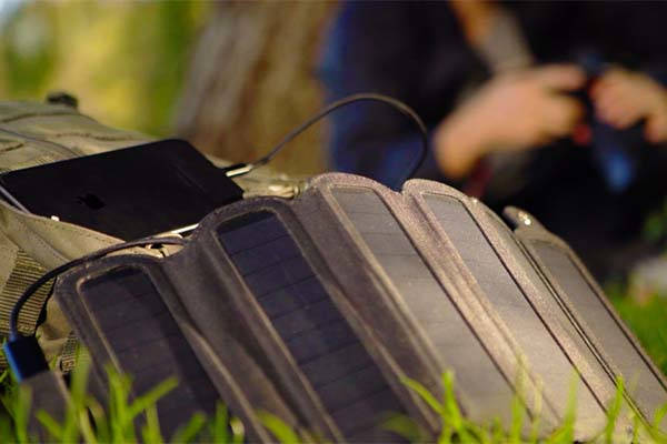 SolarCru Foldable Solar Panel Charger