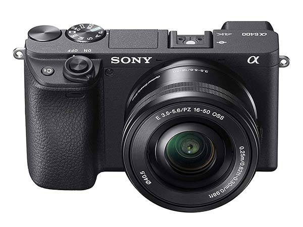 Sony a6400 Mirrorless Camera with Touchscreen LCD, 4K Recording and More