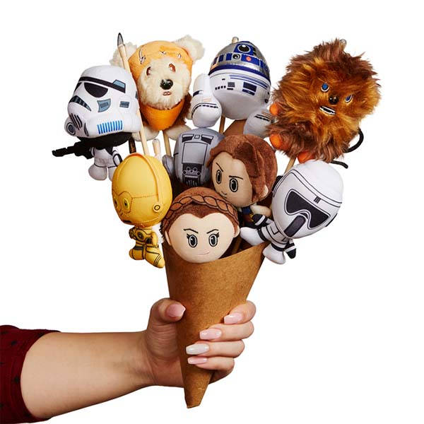 Star Wars Plush Bouquets