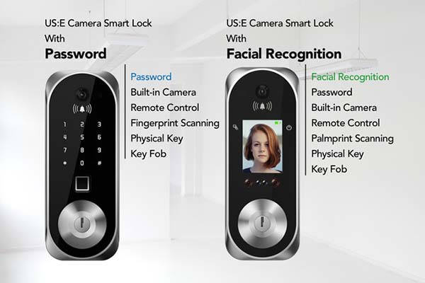 US:E Smart Lock with Camera and Facial Recognition