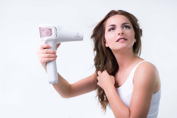 VOLO Go Cordless Hair Dryer with Infrared Heating Technology