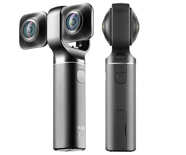 Vuze XR Dual VR Camera for 180-Degree or 360-Degree Videos and Photos in 5.7K