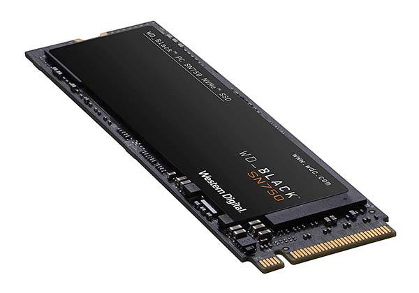 WD Black SN750 NVMe Internal Gaming PCIe SSD