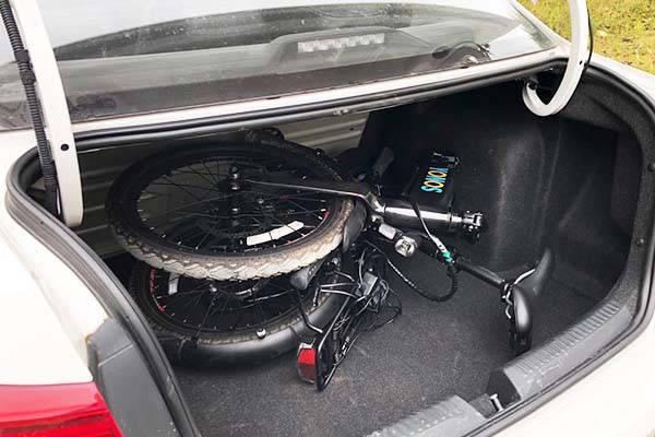 Yonos Mid-Drive Foldable Carbon Fiber Electric Bike