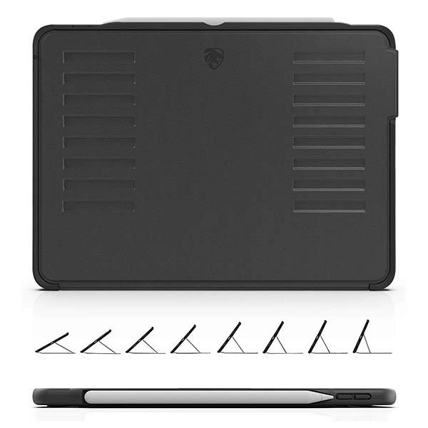 Zugu Muse 11-Inch iPad Pro Case with Apple Pencil Holder and Magnetic Stand