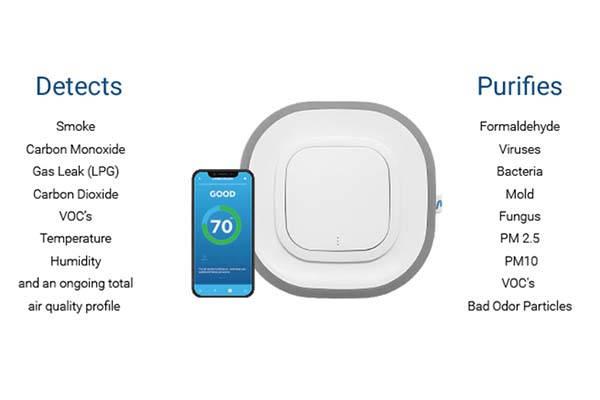 Aura Air 3-In-1 Smart Air Purifier