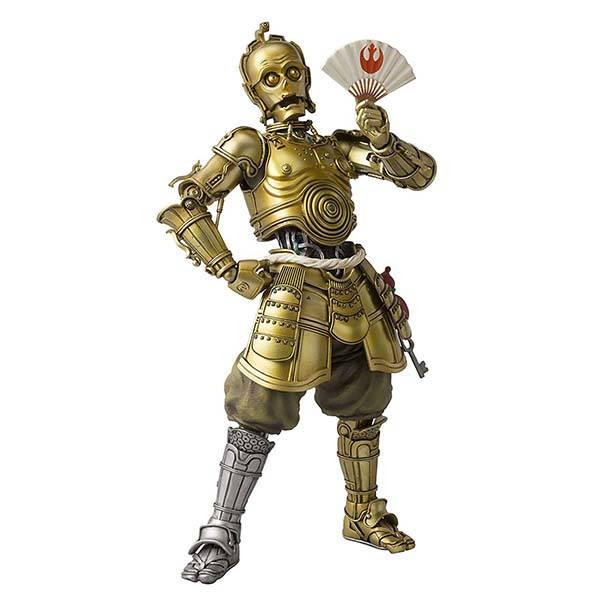 Bandai Star Wars Japanese Stylized C-3PO Action Figure