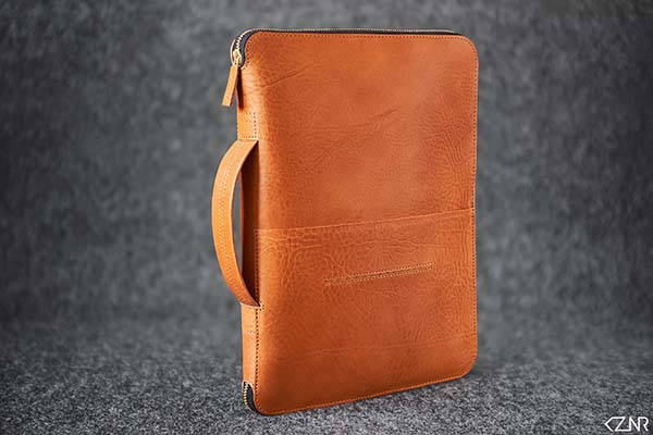 BookMan Handmade iPad Pro Leather Portfolio